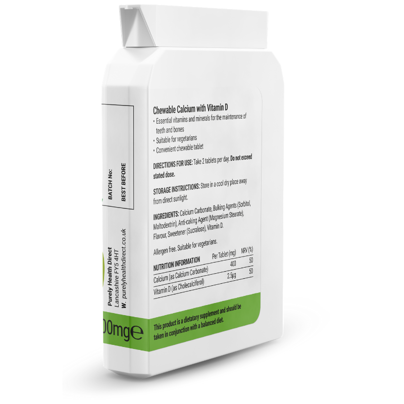 Chewable Calcium Nutritional